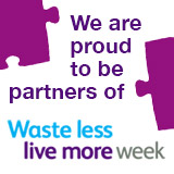 Proud Partners of Waste Less, Live More Week